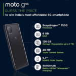 moto g 5g price in india